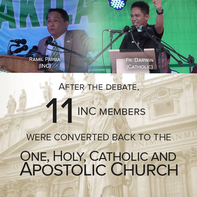 Debate iglesia vs dating daan vs inc debate